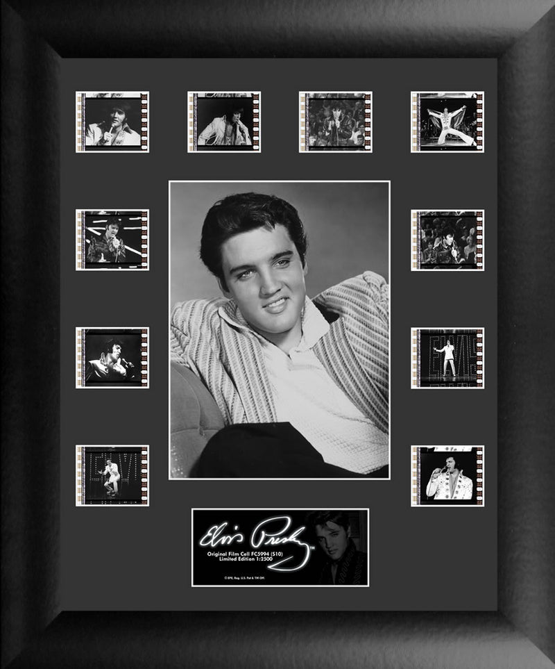 Elvis Presley Film Cell - Mini Montage S10