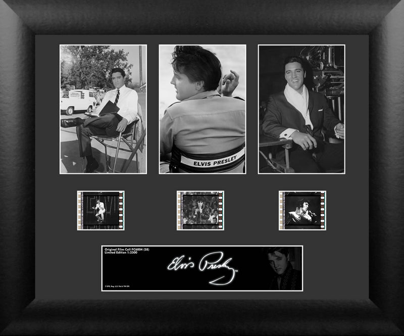 Elvis Presley Film Cell - Triple Filmstrip S8