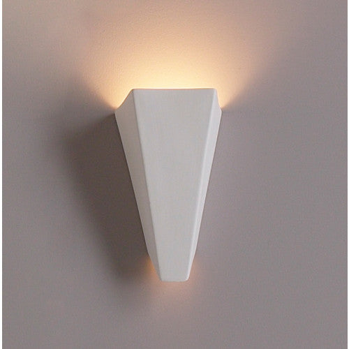Inverted Media Room Wall Sconce 8""