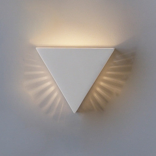 Inverted Pyramid Home Theater Wall Sconce 12.5""