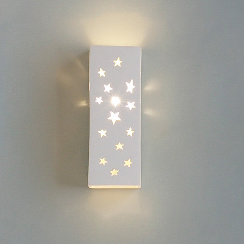 Celestial Stars Home Theater Wall Sconce 4.5""