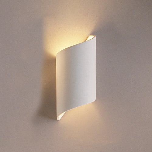 Contemporary Media Room Wall Sconce 5""
