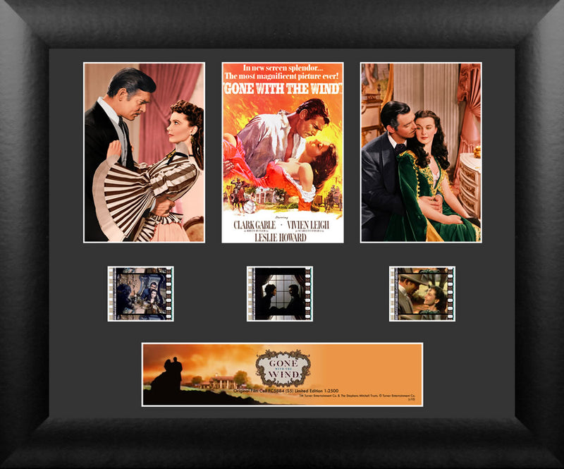 Gone With The Wind Film Cell - Triple Filmstrip S5