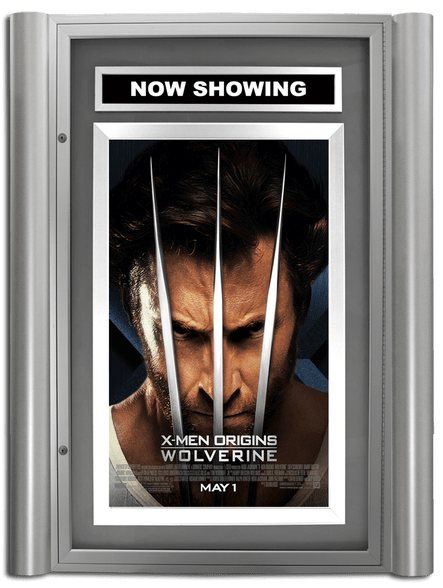 Grande Lumina Movie Poster Case - Polished Silver