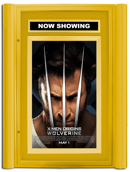 Grande Lumina Movie Poster Case - Satin Gold