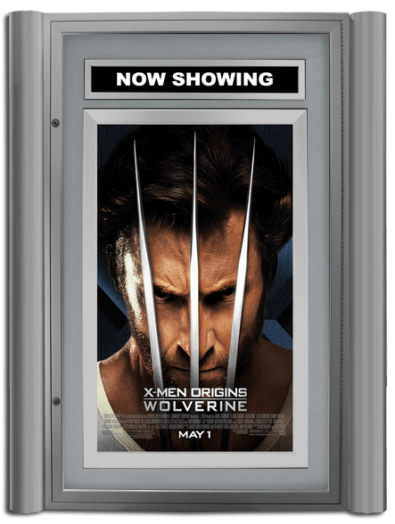 Grande Lumina Movie Poster Case - Satin Silver