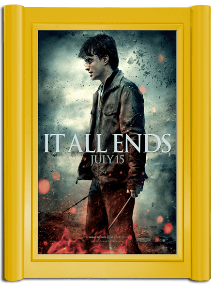 Grande Movie Poster Case - Satin Gold