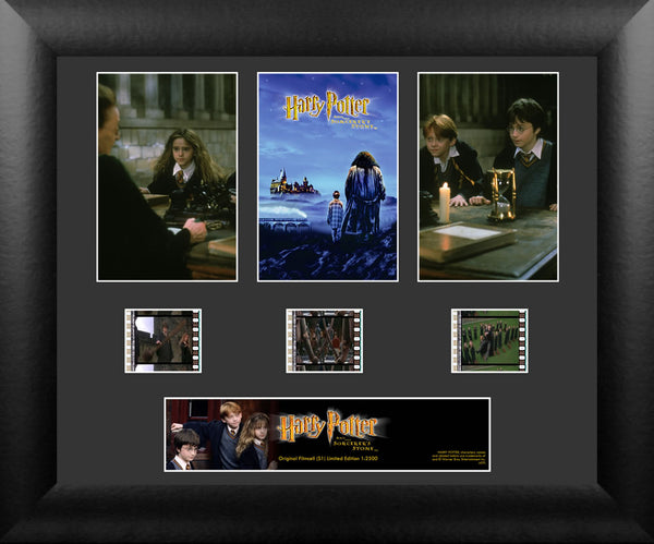 Harry Potter Film Cell -  Harry Potter and the Sorcerer's Stone - Triple Filmstrip S1
