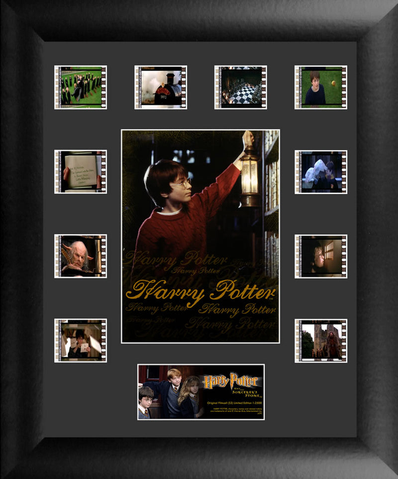 Harry Potter Film Cell - Harry Potter and the Sorcerer's Stone Mini Montage S3