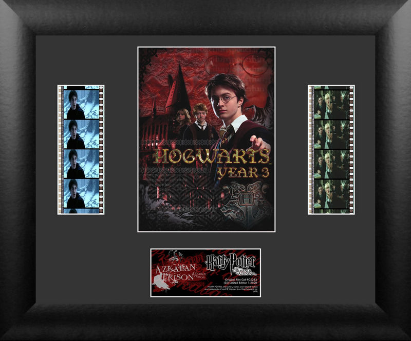Harry Potter Film Cell - Harry Potter and the Prisoner of Azkaban - Double Filmstrip S5