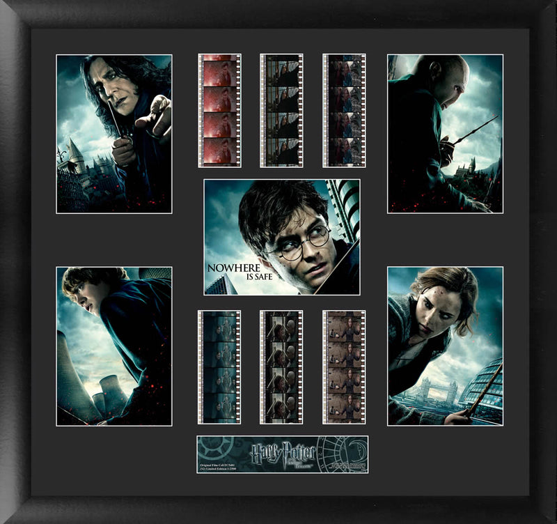 Harry Potter Film Cell - Harry Potter and the Deathly Hallows Montage S2