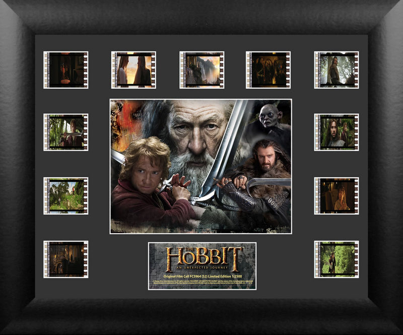 Hobbit An Unexpected Journey Film Cell - Mini Montage S2