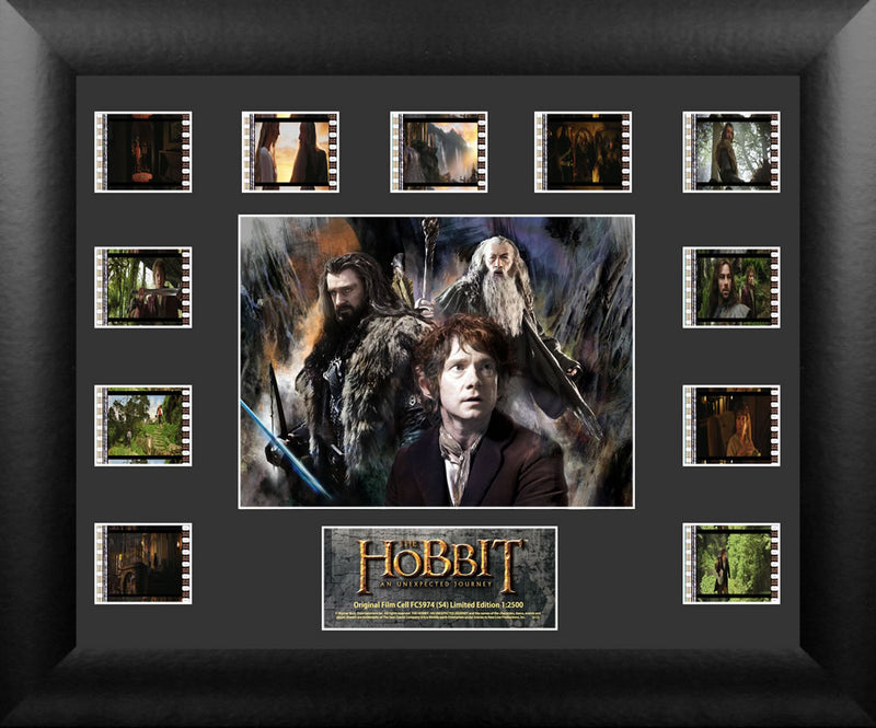 Hobbit An Unexpected Journey Film Cell - Mini Montage S4