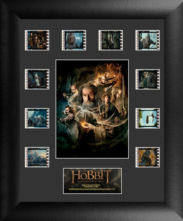 Hobbit Desolation of Smaug Film Cell - Mini Montage S2