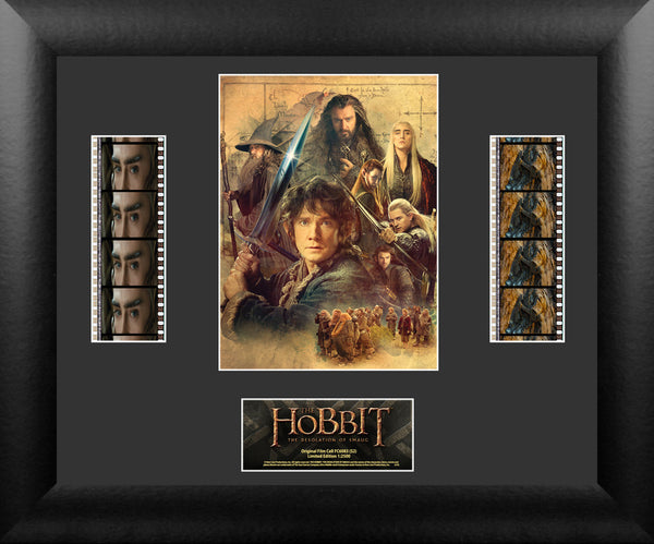 The Hobbit Film Cell - The Hobbit Desolation of Smaug - Double Filmstrip S2