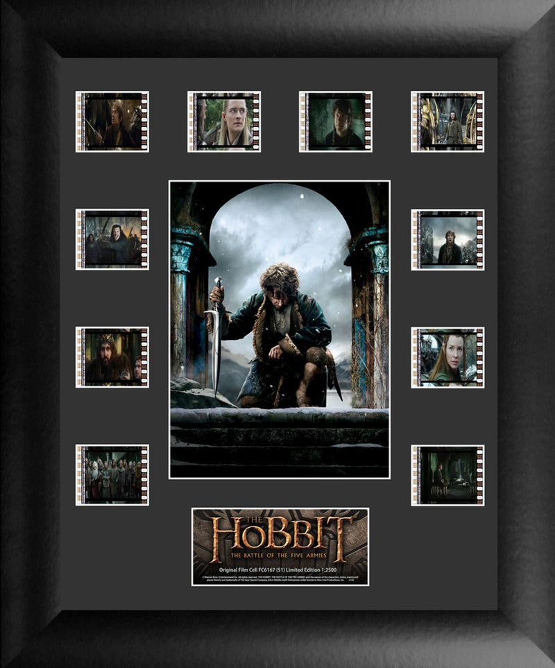 Hobbit The Battle of the Five Armies Film Cell - Mini Montage S1