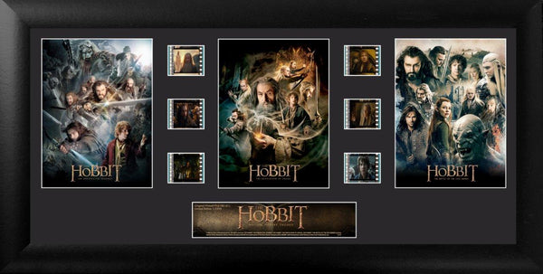Hobbit Film Cell Trilogy S1
