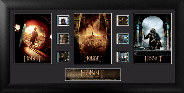 Hobbit Film Cell Trilogy S2