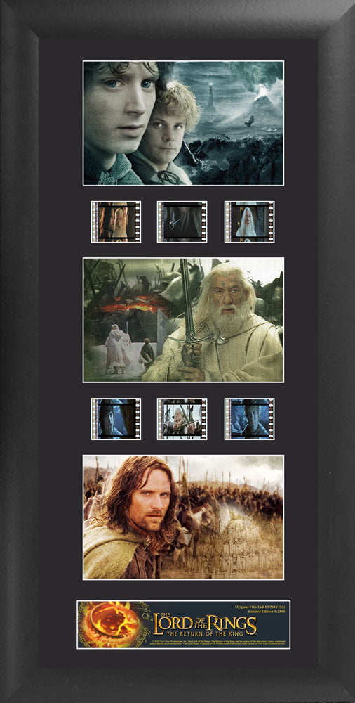 Lord of the Rings Film Cell Trio - The Return of the King S1