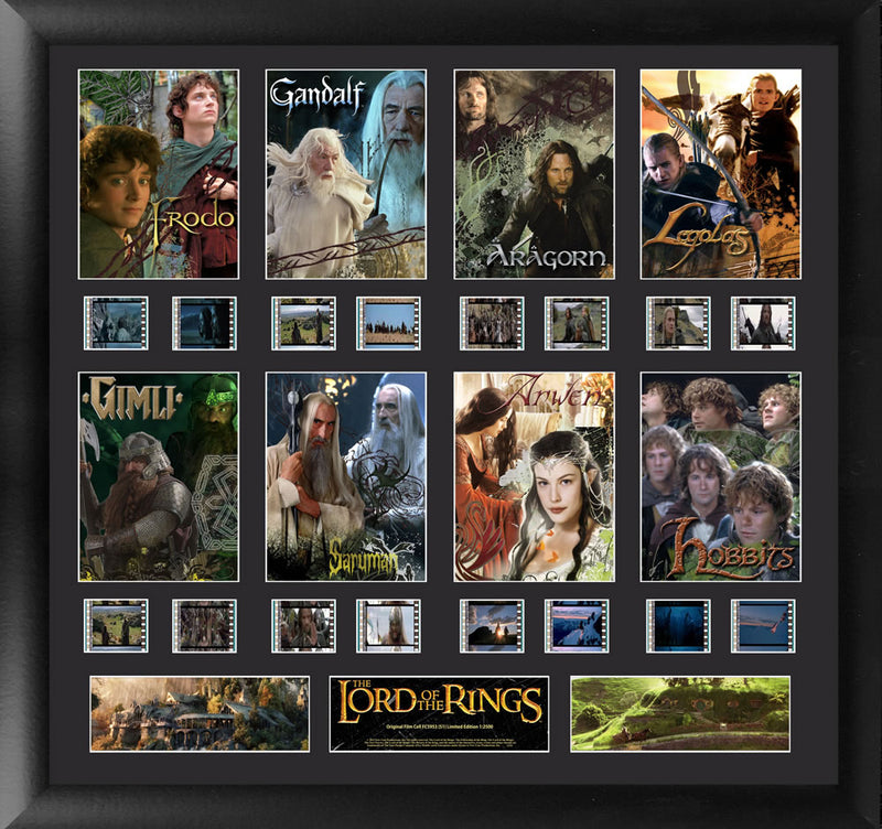 Lord of the Rings Film Cell - Character Montage