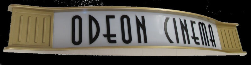 Millennium Custom Home Theater Marquee Sign
