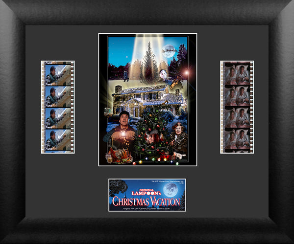 National Lampoon's Christmas Vacation Film Cell - Double Filmstrip S1