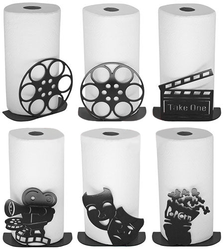 Theatrical Movie Themed Paper Towel Holders