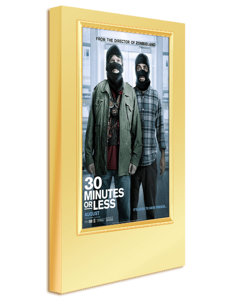 Tablet Movie Poster Light Box TS-34 - Polished Gold