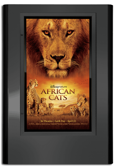 Regal Movie Poster Case - Black