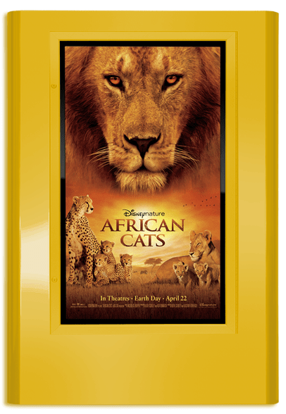 Regal Movie Poster Case - Satin Gold