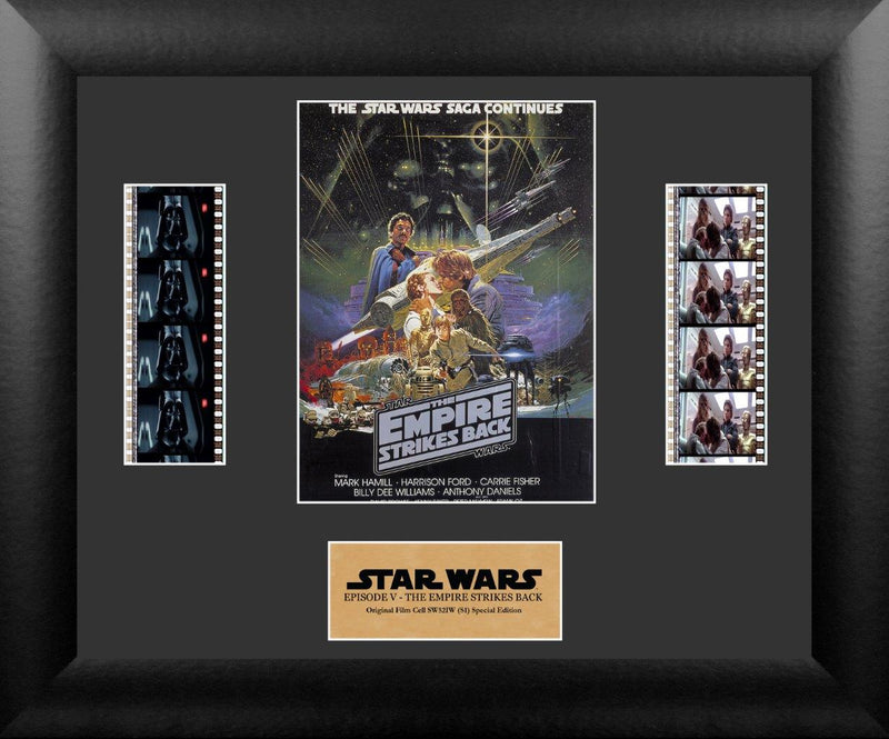 Star Wars Empire Strikes Back Film Cell - Double Filmstrip Special Edition S2