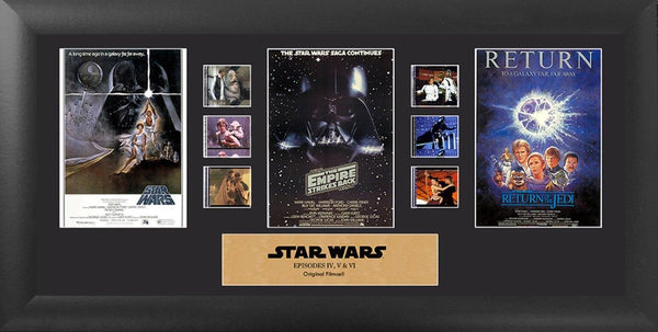 Star Wars Film Cell - Ep IV, V, VI Mixed Trilogy