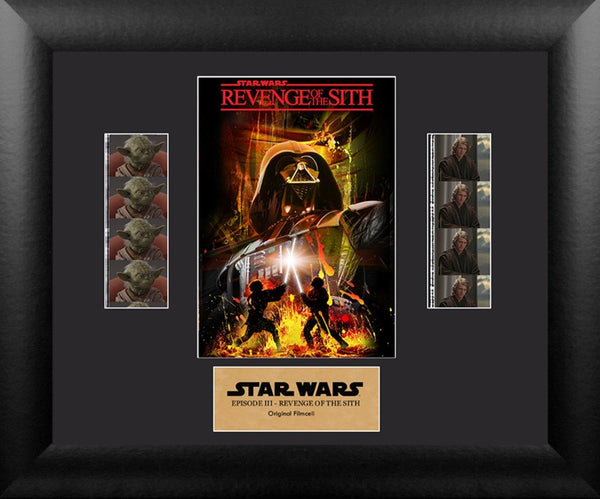 Star Wars Revenge of Sith Film Cell - Double Filmstrip S3