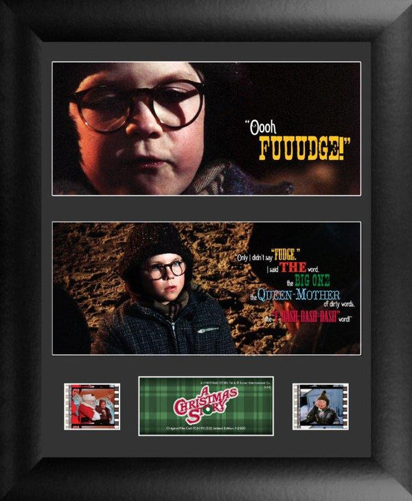 The Christmas Story Film Cell - Double Filmstrip S2