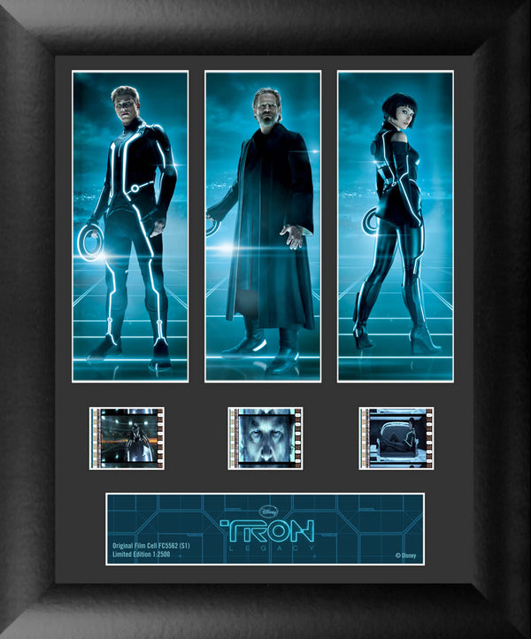 Tron Legacy Film Cell - Triple Filmstrip S1