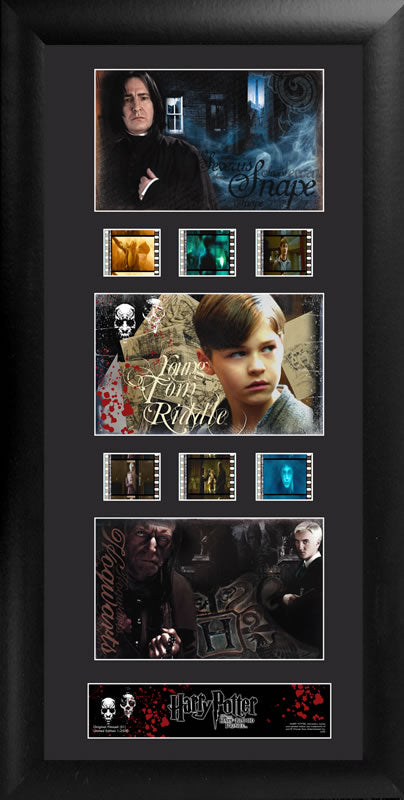 Harry Potter Film Cell Trio - Harry Potter and the Half-Blood Prince S1