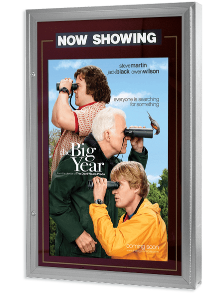 Ultra Classic Movie Poster Case - Polished Silver