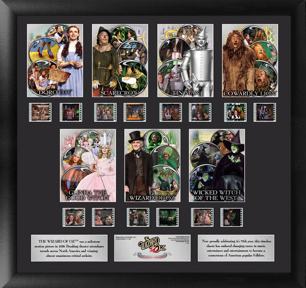 Wizard of Oz Film Cell - 75th Anniversary Character Montage S1