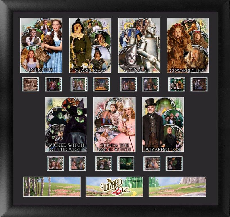 Wizard of Oz Film Cell - Character Montage S1