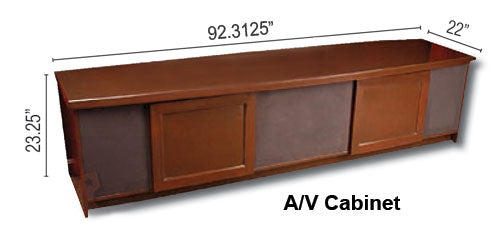 A/V Equipment Cabinet