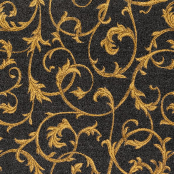 Acanthus Home Theater Carpet Brown