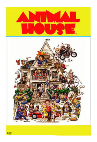 Animal House Wild House Movie Poster