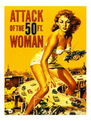 Attack of the 50-ft Woman Movie Poster