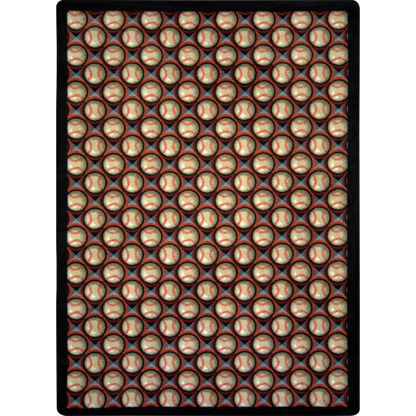 Bases Loaded Home Theater Rug
