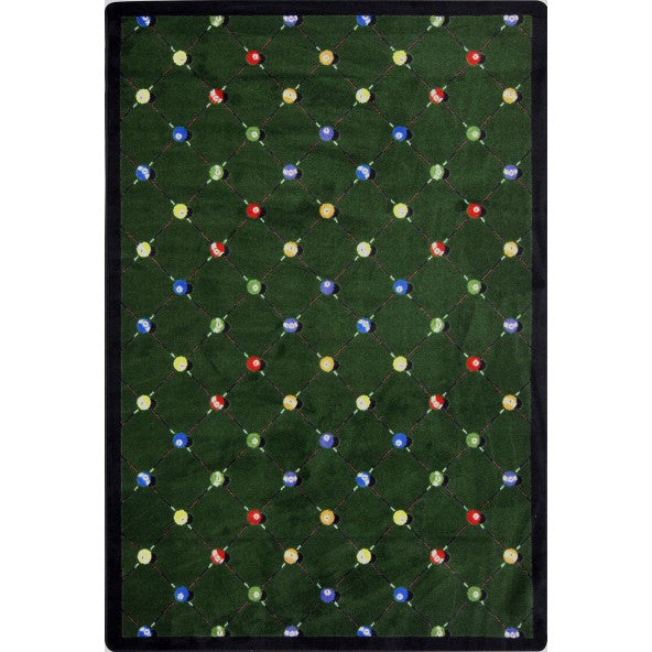 Billiards Home Theater Rug