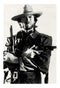 Clint Eastwood With Guns Poster