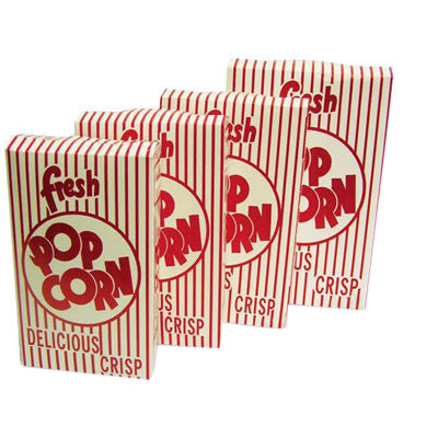 Closed Top Popcorn Boxes by Benchmark (by the case)