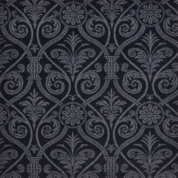 Damascus Home Theater Carpet - Black