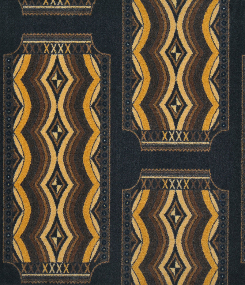 Deco Ticket Home Theater Carpet Brown