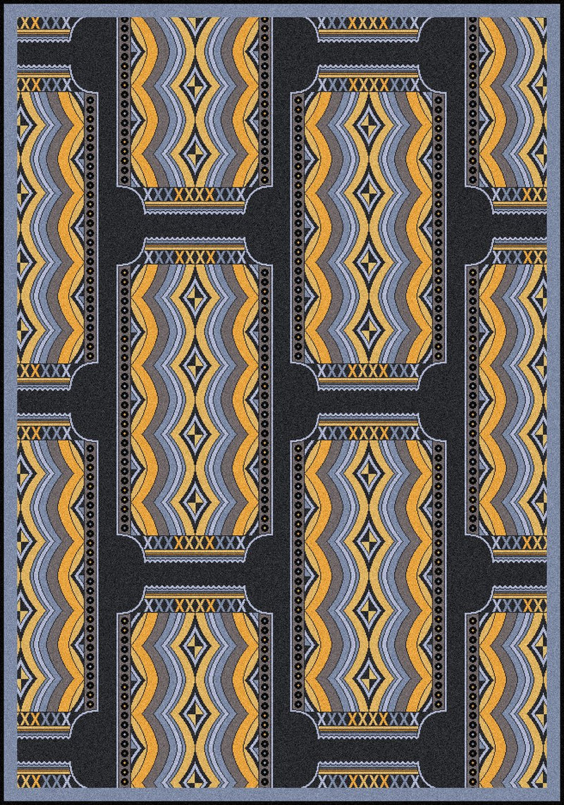 Deco Ticket Home Theater Rug